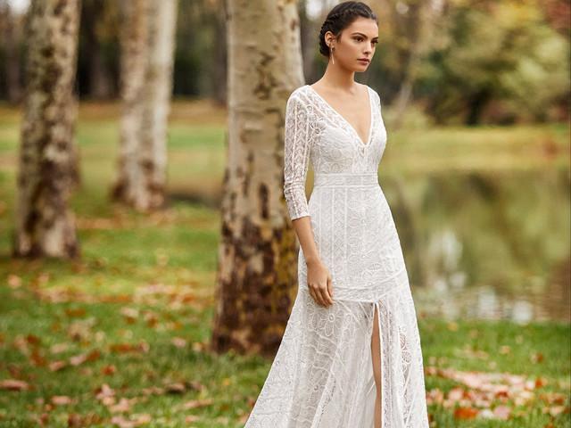 Alma Novia collection 2020 : des robes boho-chic pour votre mariage