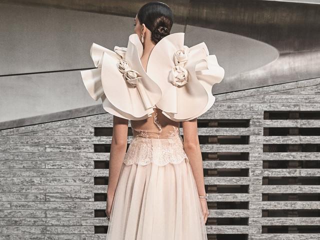 Robes de mariée Naeem Khan - automne 2019 : chic et extravagance