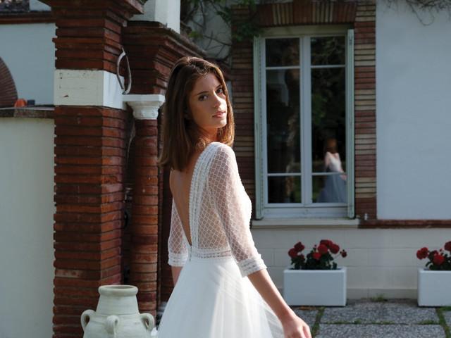 Créations Bochet 2022 : des robes de mariée simples et douces au rendez-vous de la nouvelle collection