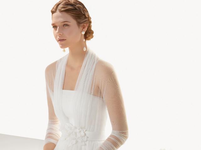 Rosa Clará 2021 : une collection d'accessoires d'hiver pour les mariées