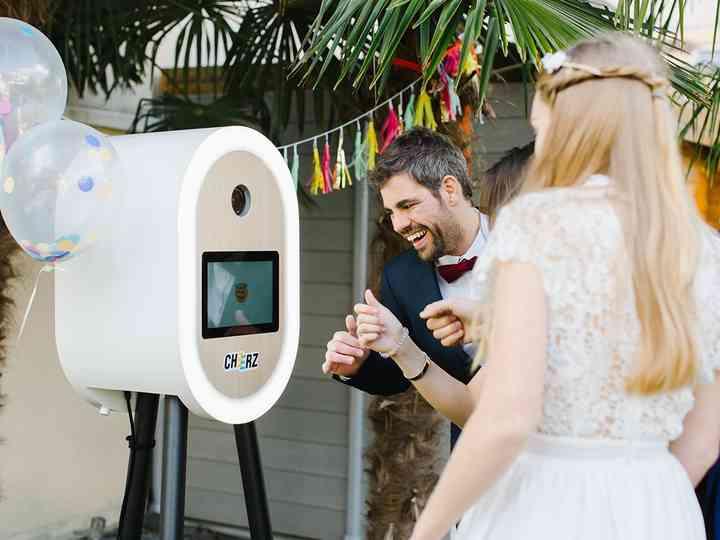 Cheerz : souriez à la wedding booth idéale !