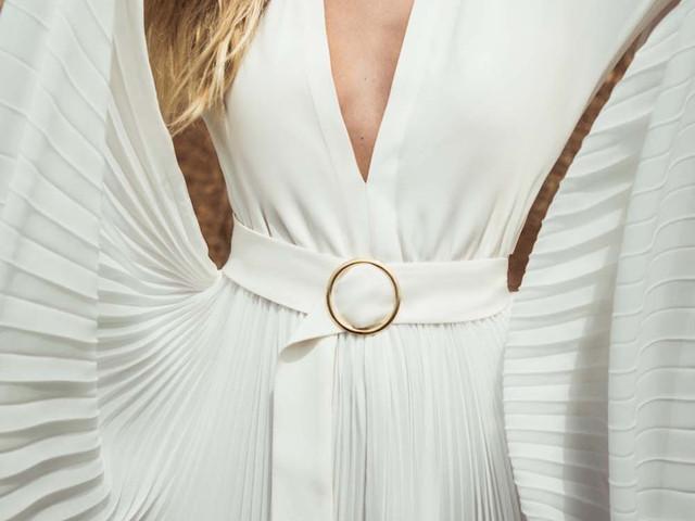 50 robes de mariée avec ceinture : le détail chic