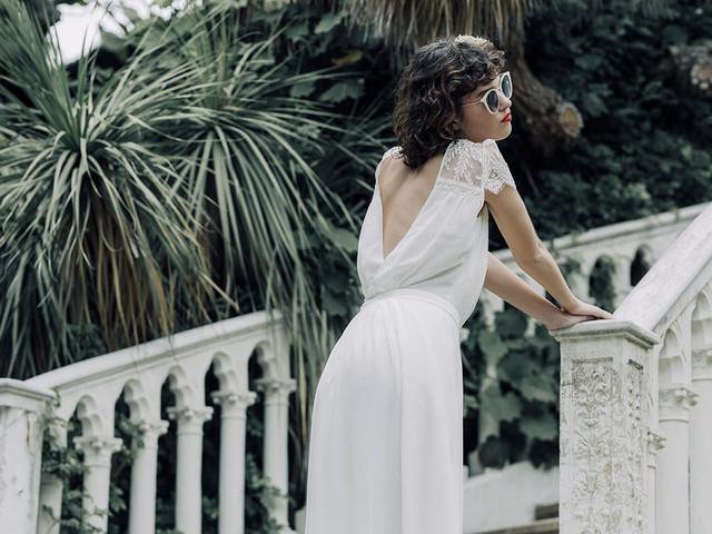 Laure de Sagazan - robes de mariée 2020 : l'élégance des années 60 revisitée au goût d'aujourd'hui