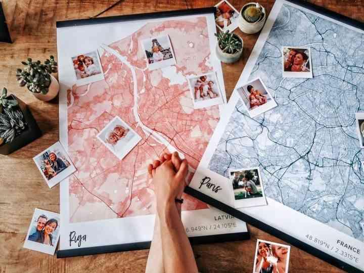 Mapiful : la géographie de votre amour sur des cartes personnalisées