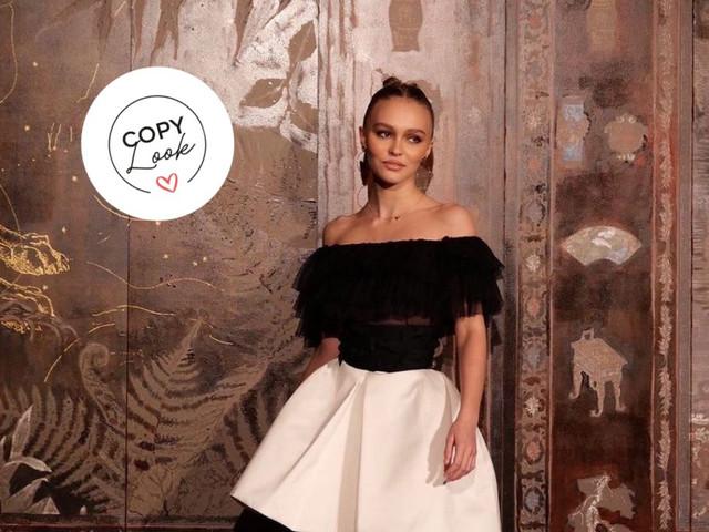 Vous vous rendez à un mariage ? Adoptez l'une de ces 5 robes de soirée inspirées du style de Lily-Rose Depp !