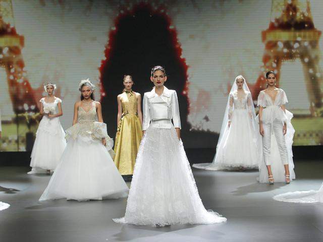 Cymbeline présente ses robes de mariée 2021 sur les podiums !