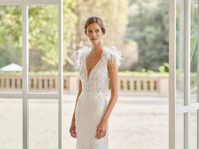 Nouvelles robes de mariée Rosa Clará : Gatsby et 4 autres collections 2022