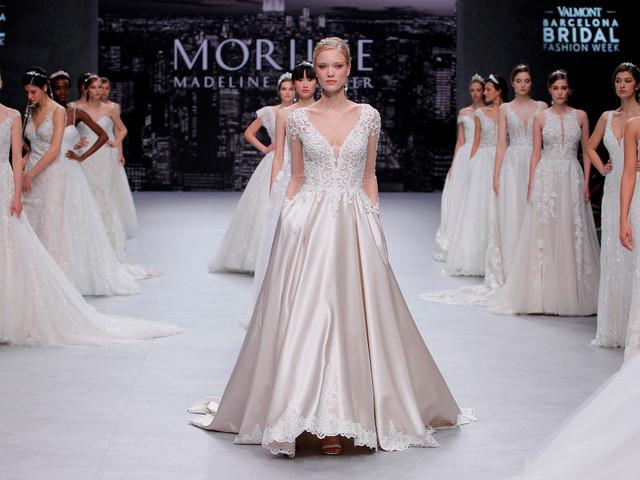 Les robes de mariée Morilee 2020 ont brillé de mille feux à la VBBFW