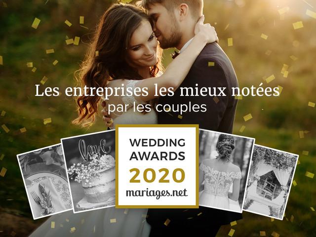 Les winners des Wedding Awards 2020 enfin dévoilés