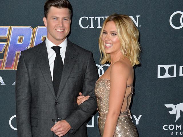 Scarlett Johansson et Colin Jost se sont  fiancés !