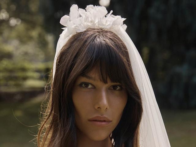 10 voiles de mariée tendance 2021 : leur point commun ? Une touche originale !