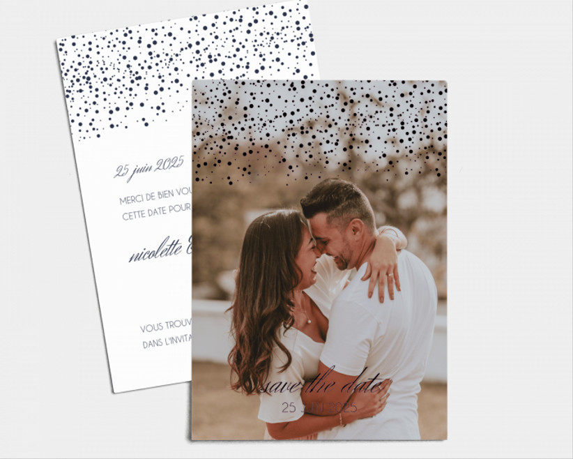 Save-the-date :  Starry Sky de Mariages.net