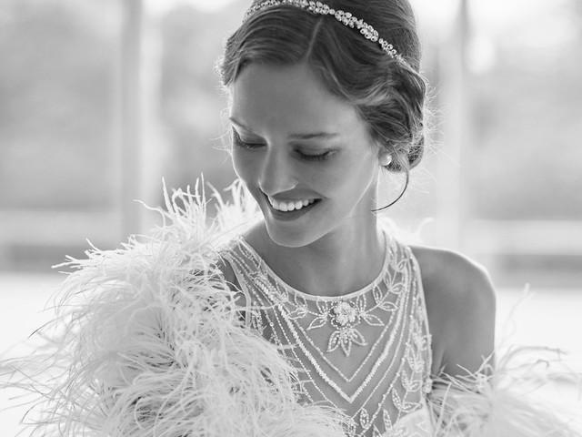 Nouveautés Rosa Clará - Gatsby, les premières robes de mariée de la collection 2022