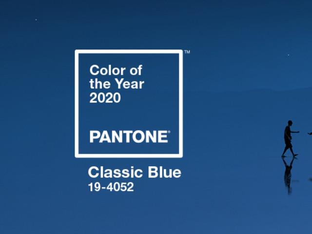 Classic Blue : Pantone annonce la couleur de l'année 2020