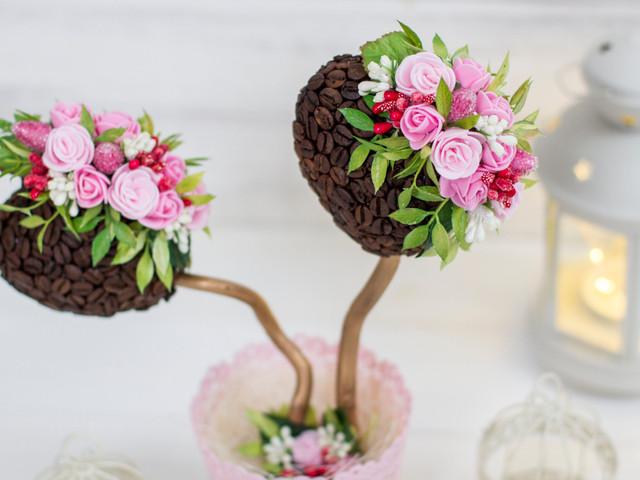 Topiaires fait maison pour votre décoration de mariage