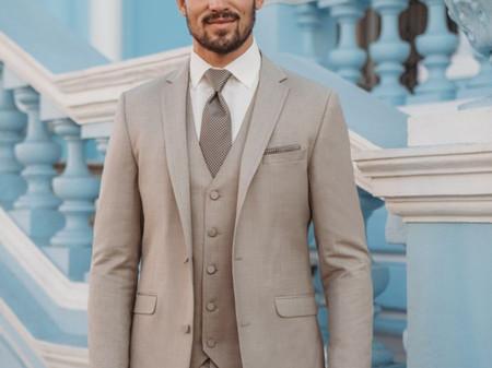 15 costumes de marié beige : une déclinaison de nuances et de styles