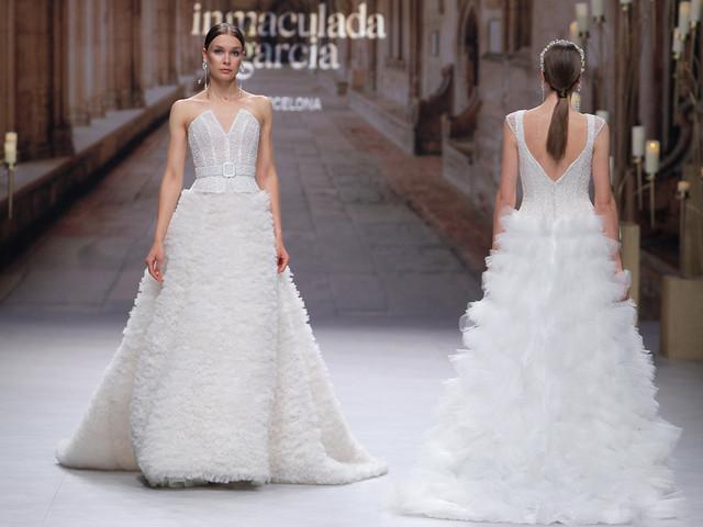 Inmaculada García 2020 : des robes de mariée qui allient mode et architecture