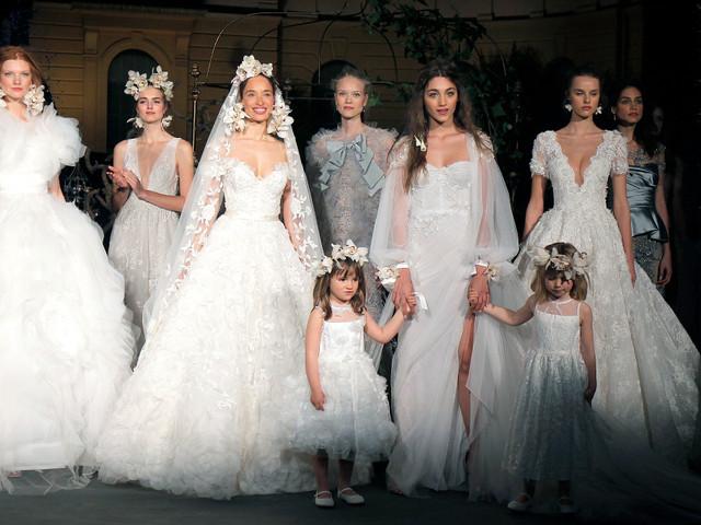 Marchesa : un défilé de robes de mariée 2020 princières à la VBBFW