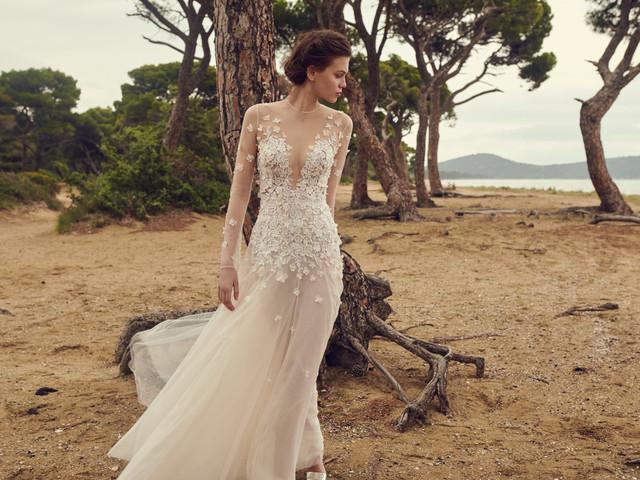 Costarellos printemps 2020 : des robes de mariée inspirées de la Belle Époque et de la Grèce