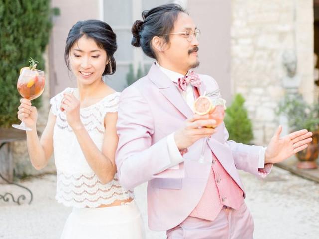 7 cocktails de mariage réservés au couple star