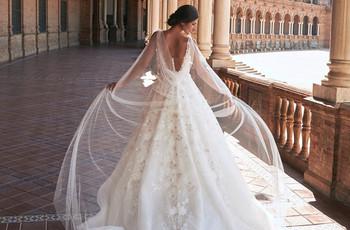 Marchesa for Pronovias : robes de mariée printemps-été 2021 à l'esthétique andalouse