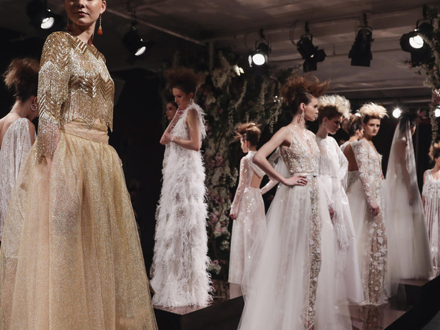 Naeem Khan : 15 robes de mariée printemps So Amazing !