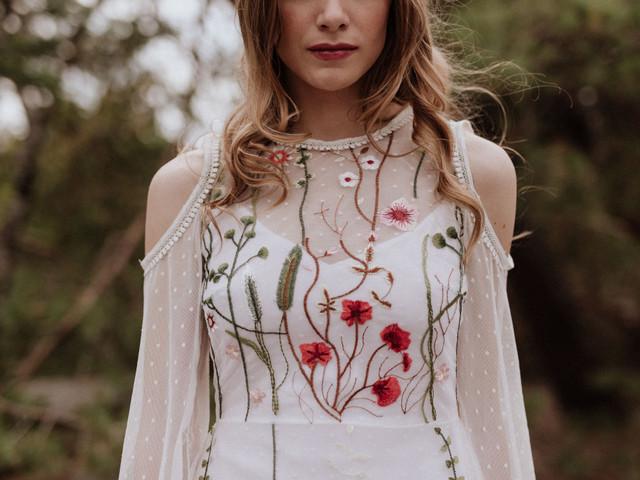 Robes de mariée Elodie Courtat : une ode à la liberté