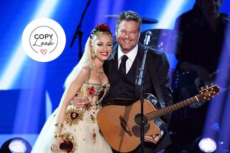 Votre look de mariée comme ... Gwen Stefani : deux robes de mariée, l'une glam et l'autre party dress