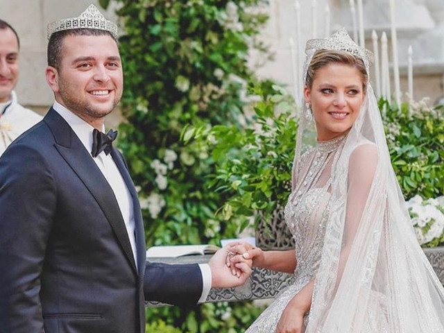 Trois jours, quatre robes : le luxueux mariage d'Elie Saab Jr. et Christina Mourad