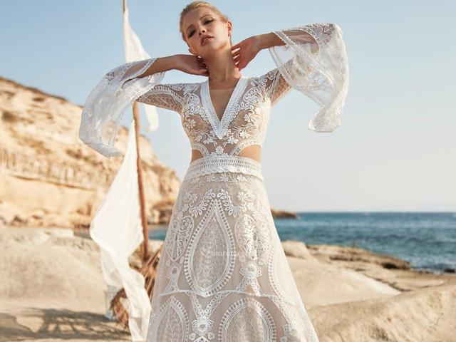 Hervé Paris 2021 : les robes de mariée Boho Vintage Destination