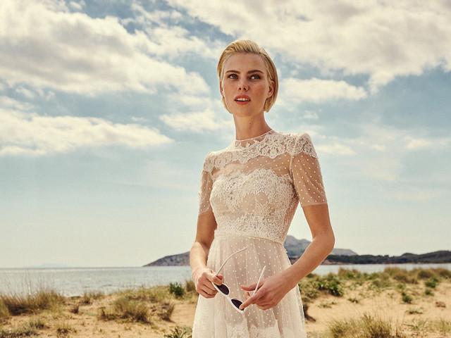 1,2,3... raisons (et bien plus que ça) de dire oui à une robe de mariée Costarellos 2022