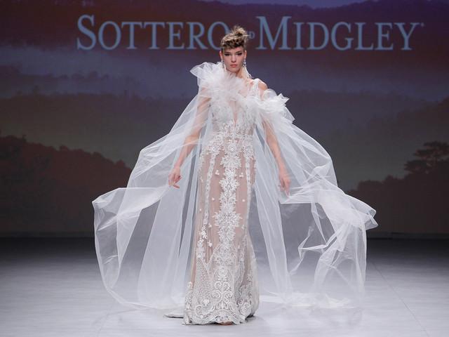 Maggie Sottero - automne 2019 : les robes de mariée romantiques découvertes à la VBBFW