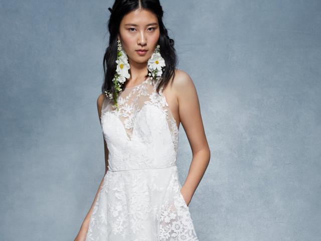 Marchesa 2020 : une collection à la délicatesse inspirée de l'art floral japonais