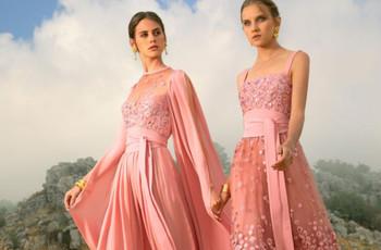 50 robes pour demoiselle d'honneur : toutes en rose !
