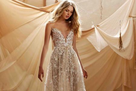 Muse by Berta 2021 : des robes de mariée printemps-été en effet trompe l'œil