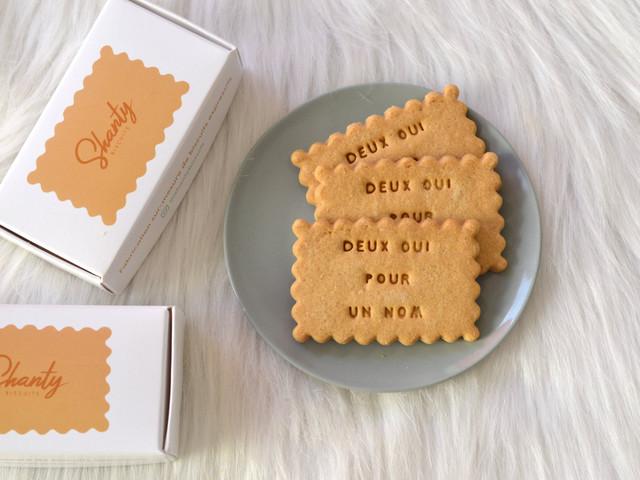 Shanty Biscuits : des biscuits pour toutes les occasions, et d'abord votre mariage !