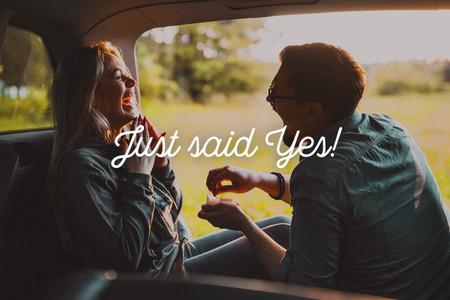 #JustSaidYes : vos photos de couple sur Instagram pour gagner un weekend en amoureux