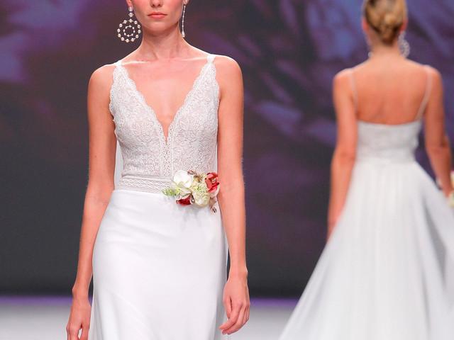Aire Barcelona : les robes de mariée 2020 défilent à la VBBFW dans un élan de modernité