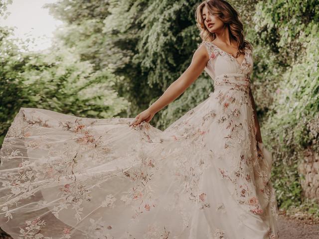 Stéphanie Allin : le glamour british pour votre robe de mariée