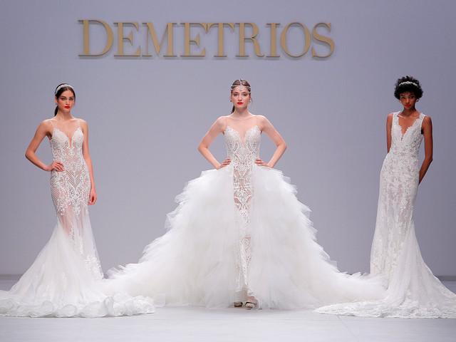 Défilé Demetrios : des robes de mariée 2020 royales trônent à la VBBFW !