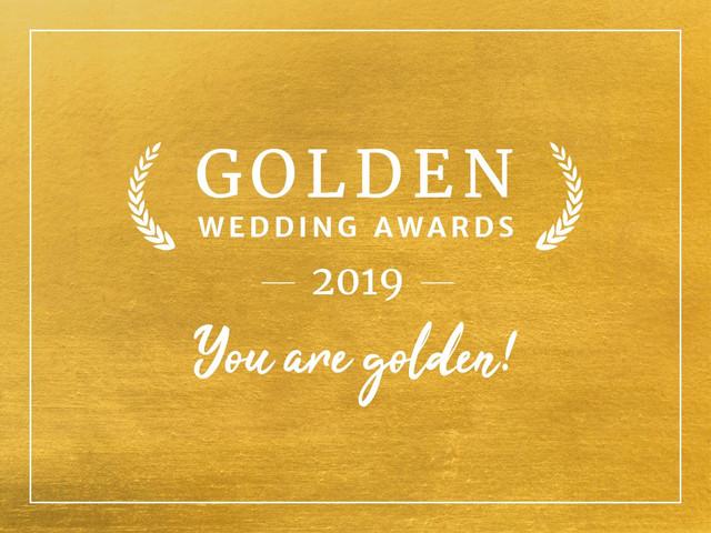 Les Golden Wedding Awards 2019 remis aux meilleurs prestataires !