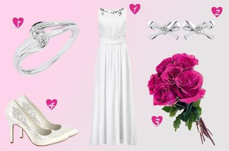 Look de mariée H&M petit budget