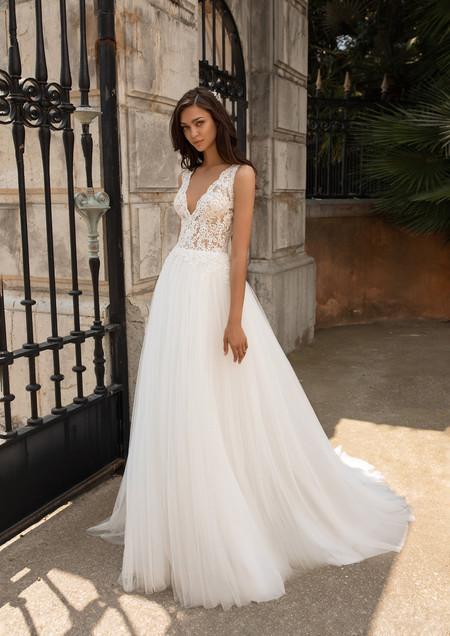 70 robes de mariée simples pour une cérémonie