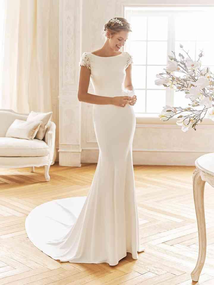 60 Robes De Mariée Simples Idéales Pour Votre Cérémonie Civile