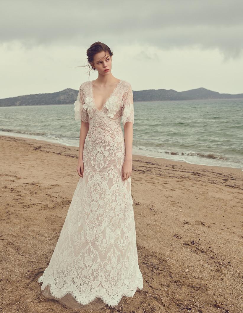 Costarellos Printemps 2020 Des Robes De Mariee Inspirees De La Belle Epoque Et De La Grece