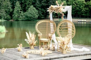 Mariage au bord d'un lac : un lieu de rêve !