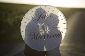 Just married ou comment annoncer que vous êtes enfin des jeunes mariés