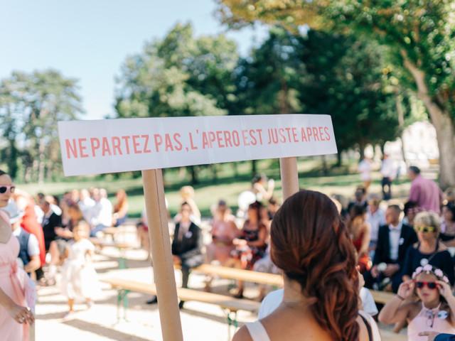 Chauffeurs de salle : désignez des invités pour assurer l'ambiance du mariage