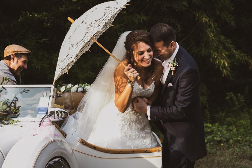 look de mariée de mariage d'été
