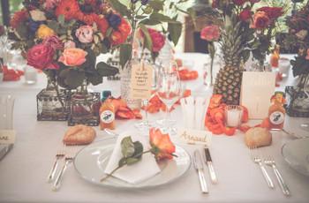Tendances déco mariage 2020 : un goût marqué pour l'exotisme, les formes et la lumière